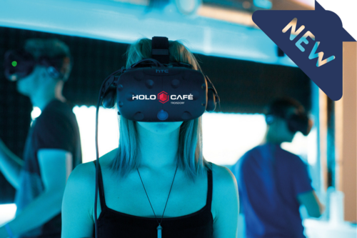 Holocafé - Virtual Reality - Lasertag Area & Holocafé Gutschein-Shop